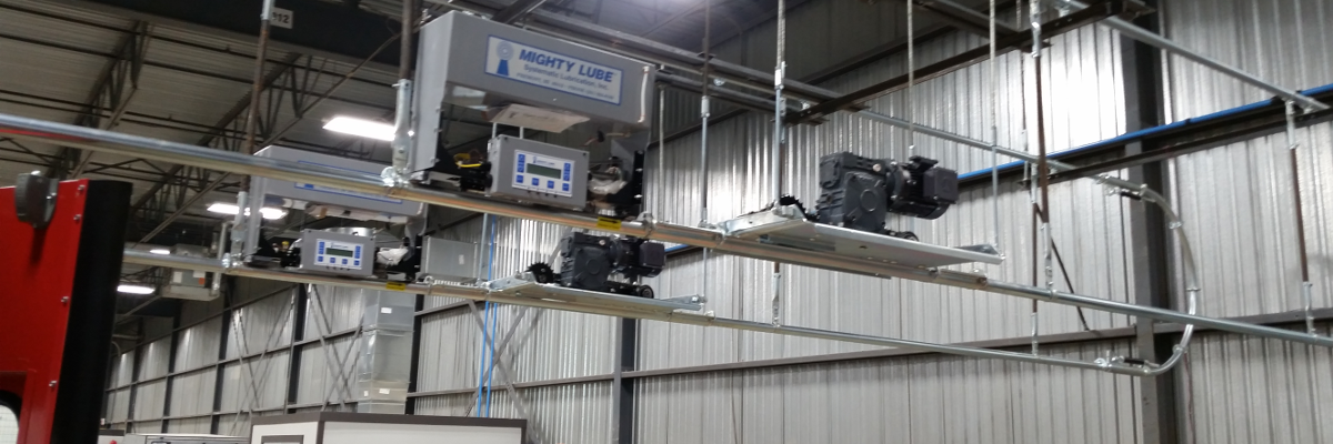 Inverted power overhead conveyor system